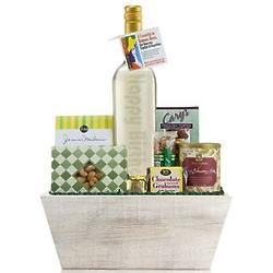 Birthday Bottle Wine Gift Basket
