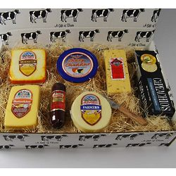 Wisconsin Cheese Sampler Gourmet Gift Box