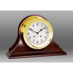 Brass Ship's Bell Clock