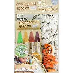 Endangered Species Eco Doodle Table Top Activity Mat