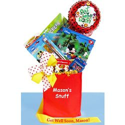 Disney Get Well Activity Kit for Boy or Girl