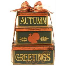 Fall Delights Gourmet Gift Tower