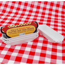 Melamine Hot Dog Trays