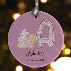 Precious Moments Personalized Baby Ornament