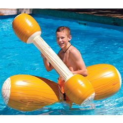 Log Flume Joust Pool Floats