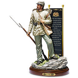 Pride of the South Civil War Foot Soldier Sculpture