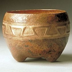 Aztec Copper Bowl