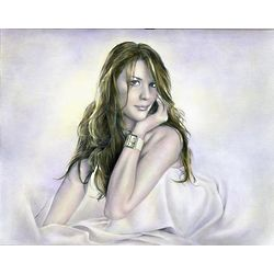 Liv Tyler DaVinci Sketch Limited Editions Print