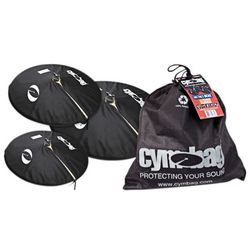 Percussionist's Black Cymbal Bag Kit