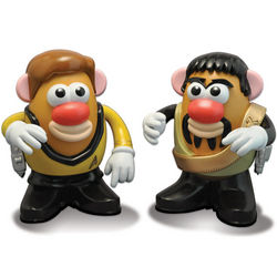 Star Trek Kirk and Kor Mr. Potato Head Toys