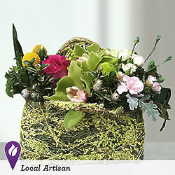 Carried Away Floral Purse