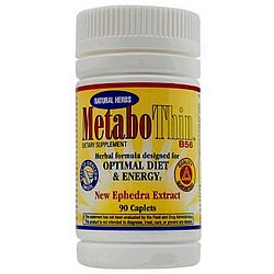 Metabothin Diet Pill with Herbal Ephedra