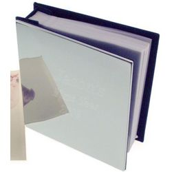 Engraved Chrome Photo Album