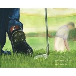 Golf is Life Fine Art Print