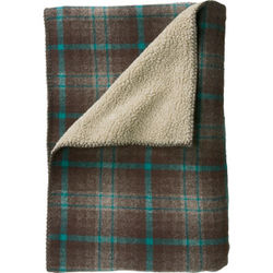 Woodbury Reversible Wool Throw