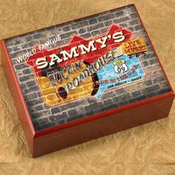 Personalized Roadhouse Humidor