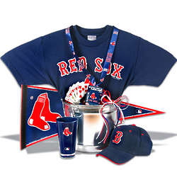Boston Red Sox Classic Gift Basket