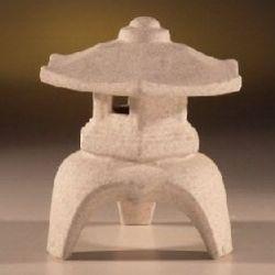 Ceramic Pagoda Lantern for Bonsai Garden