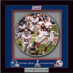 Giants Super Bowl XLVI Shadowbox