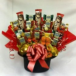 Here's to You! Candy Gift Basket