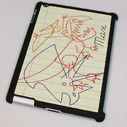 Personalized iPad 2 Dinosaur Sketch Case