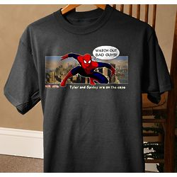 Personalized Spiderman T-Shirts