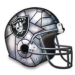 NFL Oakland Raiders Accent Helmet Lamp