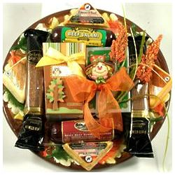 Meat and Cheese Fall Gift Platter