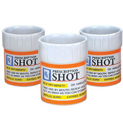 Prescription Rx Shot Glasses