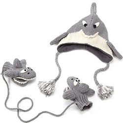 Shark Hat or Mittens