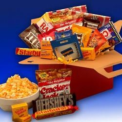 Blockbuster Night Movie Care Package with Gift Card