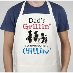 Grillin and Chillin Custom Apron