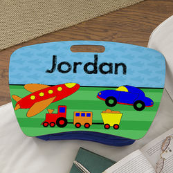 Planes, Trains and Cars Personalized Boy's Lap Desk