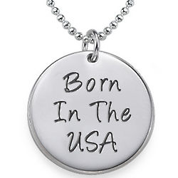 Born in the USA Necklace