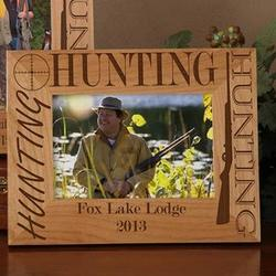 Big Hunter Personalized Frame
