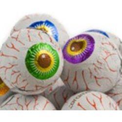 Creepy Peepers Peanut Butter Chocolate Eyeballs