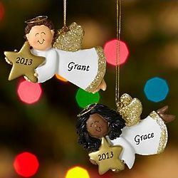 Personalized Angel Ornament