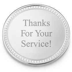 Service Recognition Coin