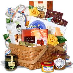 French Cuisine Inspired Gift Basket