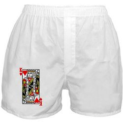 King of Hearts Boxer Shorts