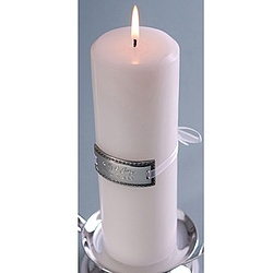 Engraved Medallion Unity Candle