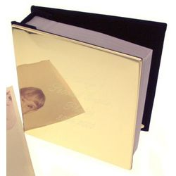 Engravable Brass Photo Album