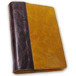 Custom Leather Small Quarter Bound Book Cover