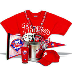 Philadelphia Phillies Gift Basket Classic