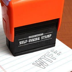 TXT Self Inking Stampers