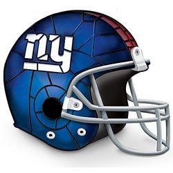 New York Giants Football Helmet Accent Lamp