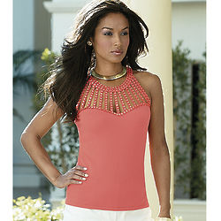 Misses Halter Sweater