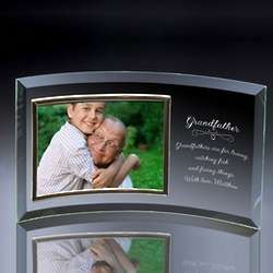 Grandfather Curved Glass 4x6 Photo Frame