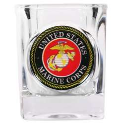 Marine Corps Shot Glass
