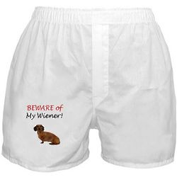 Beware of My Wiener Boxer Shorts